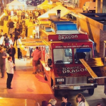 There's an awesome food truck festival happening in Yaletown tonight